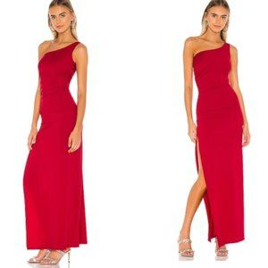 New Superdown Mabel rushed maxi dress
